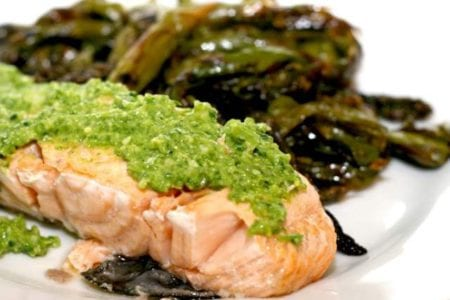 halibut-with-vegan-cilantro-pesto