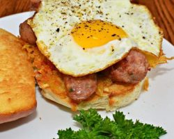 egg-and-sausage-sandwich-muffin
