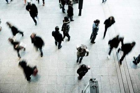Pedestrians-busy