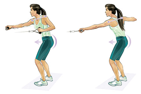 Push and Pull Exercise Women - Top Workouts That Slow Down Ageing