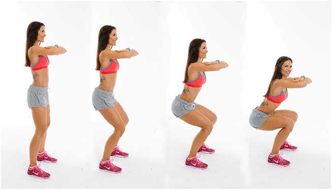 Squat Exercise Women - Top Workouts That Slow Down Ageing