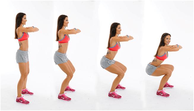 Squat Exercise Women