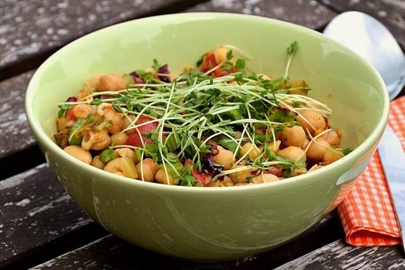 Scallions-Lemon-Chickpea-Salad