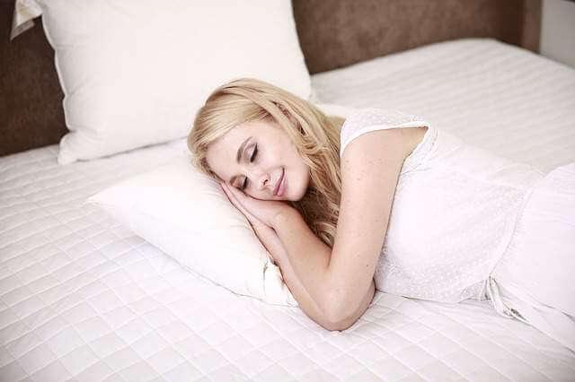 Women Sleeping - 10 Health Benefits of taking a Foot Massage