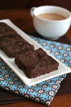 Mocha Chocolate Chunk Chia Brownies