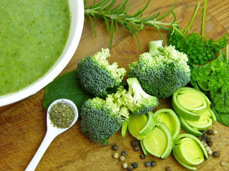 broccoli-leek