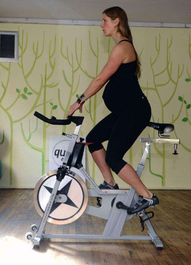 Stationary Bike pregnant women