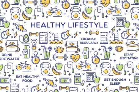 Healthy Lifestyle Conceptual