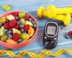 fresh-fruit-salad-glucometer-centimeter