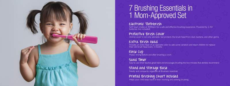 Brusheez Children's Electric Toothbrush