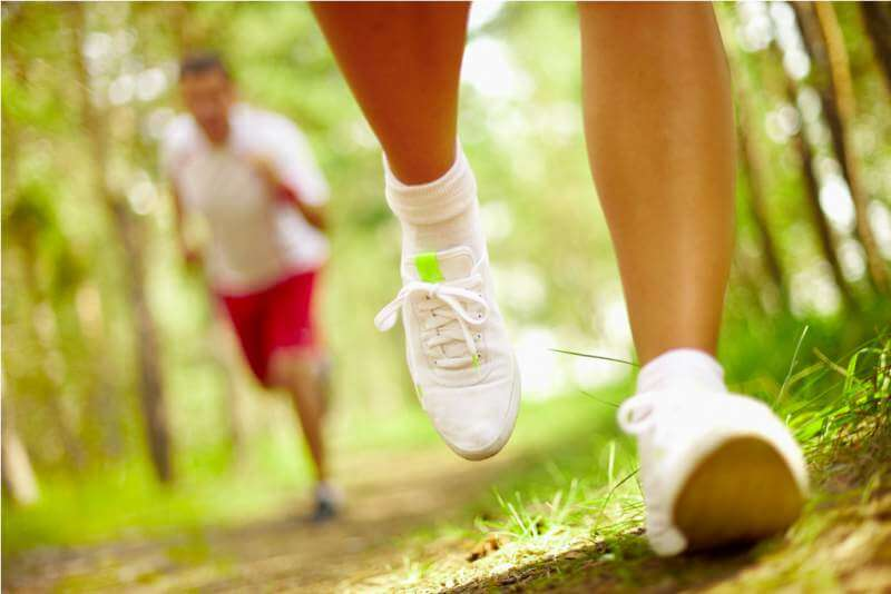 running-in-park-shoes