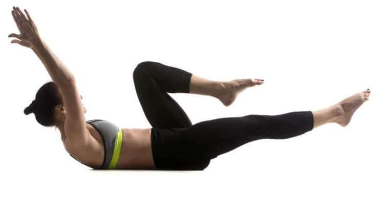 single-leg-stretch-exercise