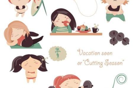 vacation soon or cutting season