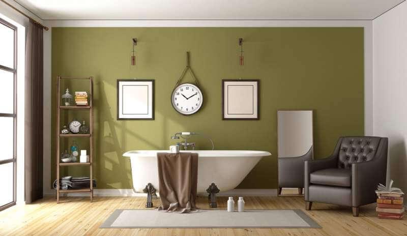 green-retro-bathroom