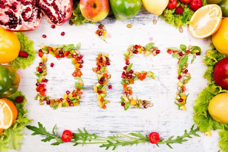 word-diet-is-made-from-fruite-and-vegetables