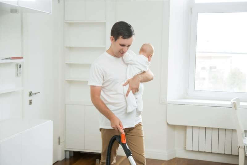 frustrated-stay-at-home-dad-vacuum-cleaning
