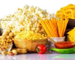 junk-food-on-white-background
