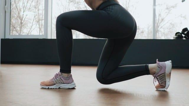 women sitting exercise