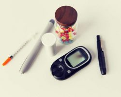 close-up-of-glucometer-insulin-pen-and-drug-pills