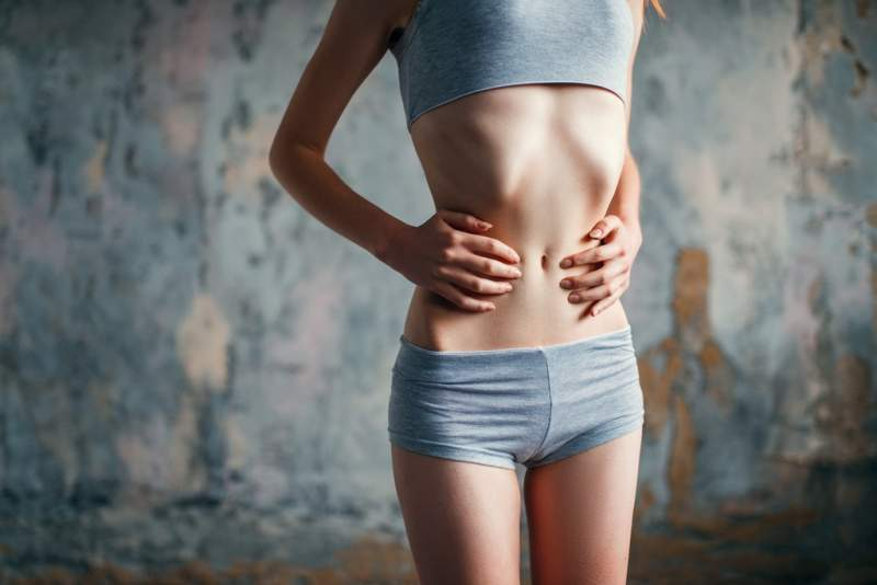 female-with-slim-waist-weight-loss-anorexia