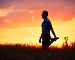 runner-at-the-sunset
