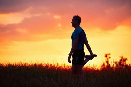 runner-at-the-sunset