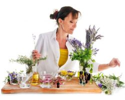 woman-and-essential-oils