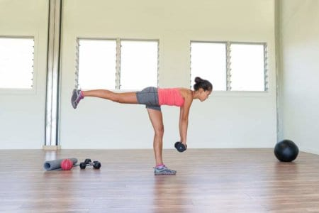 Kettlebell Single-Leg Deadlifts