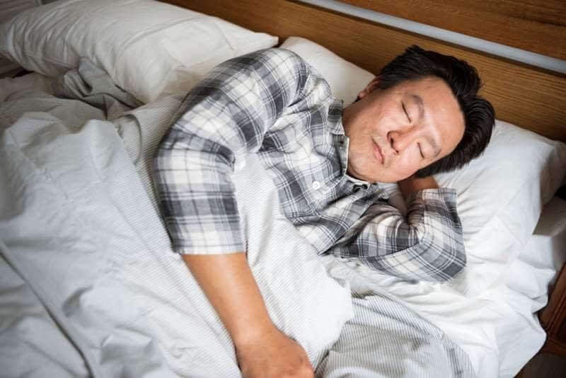 a-man-sleeping-soundly