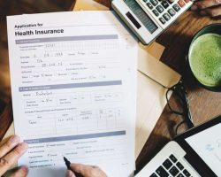 health-insurance-application-form-concept