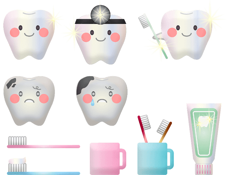teeth-hygiene-icons