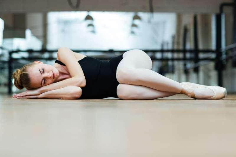 ballerina-sleeping-on-the-floor