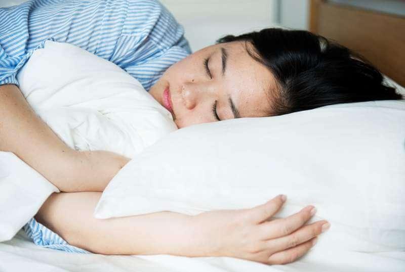a-woman-sleeping