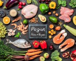 pegan-diet-concept-paleo-plus-vegan-food
