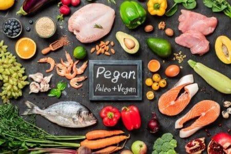 pegan-diet-concept-paleo-plus-vegan-food