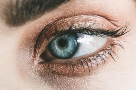 women eye