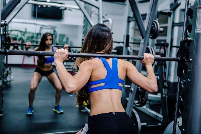 HIIT women gym